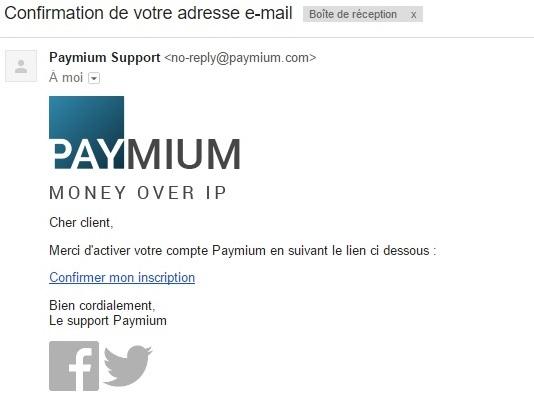 paymium e-mail 2