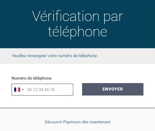 paymium telephone