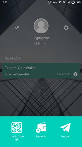 Eth Freewallet app