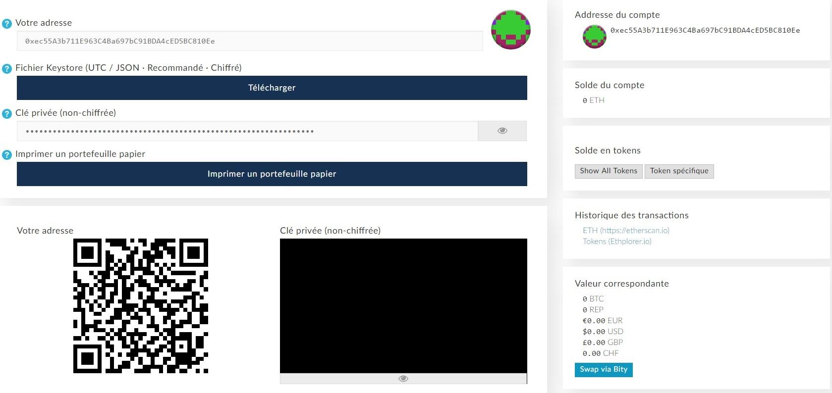 prix incroyable bonne texture style limité Comment utiliser MyEtherWallet : portefeuille Ethereum ...