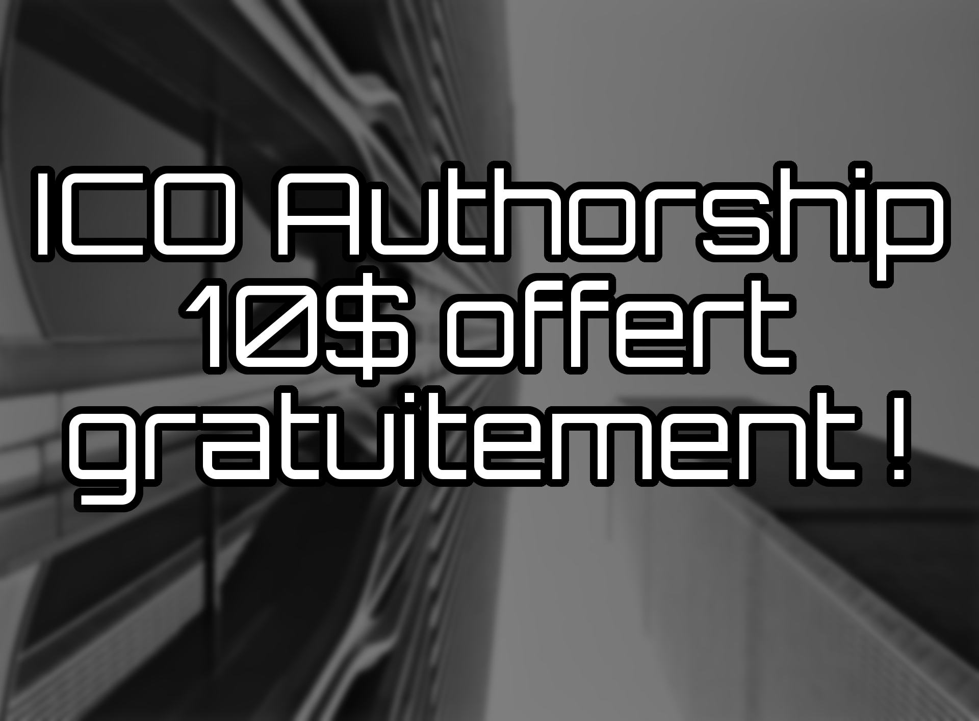ICO authorship 10 $ gratuit