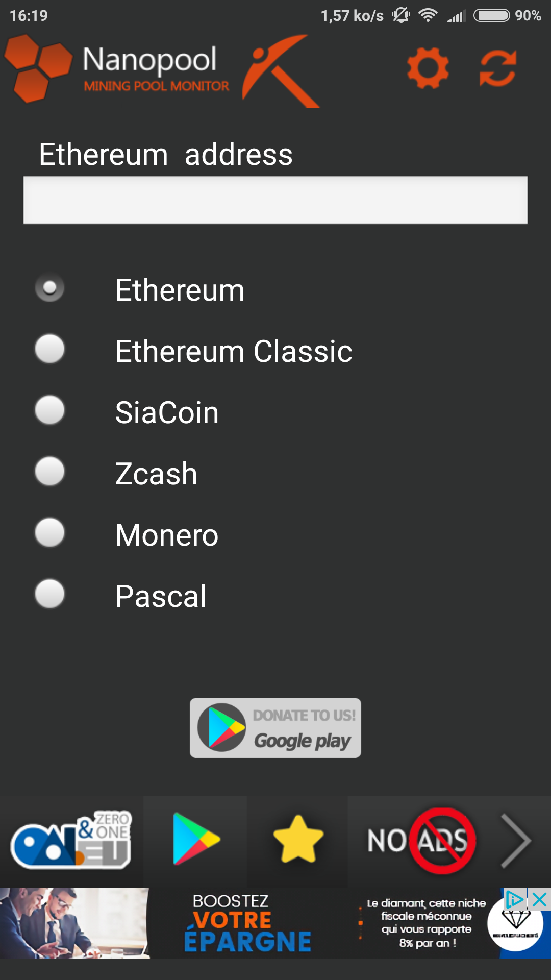 what cryptocurrencies can i mine with claymore zcash miner