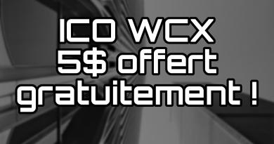 ICO WCX 50 Tokens gratuits