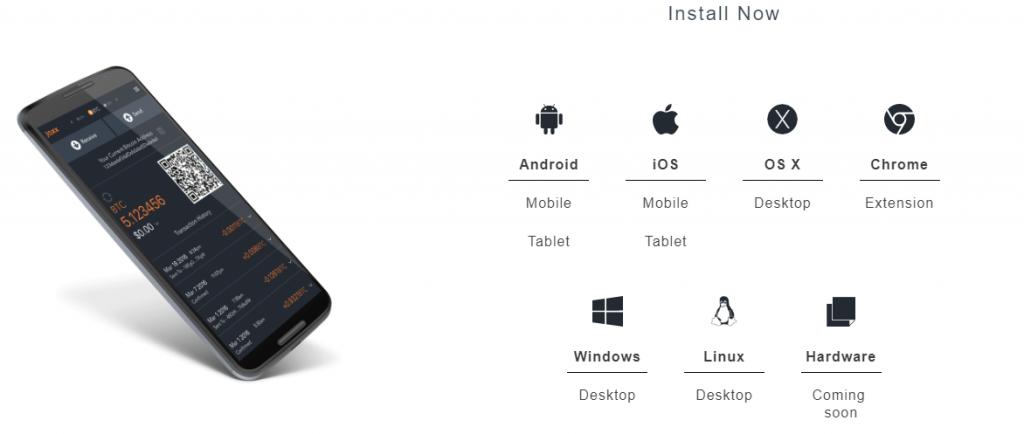 Jaxx OS support