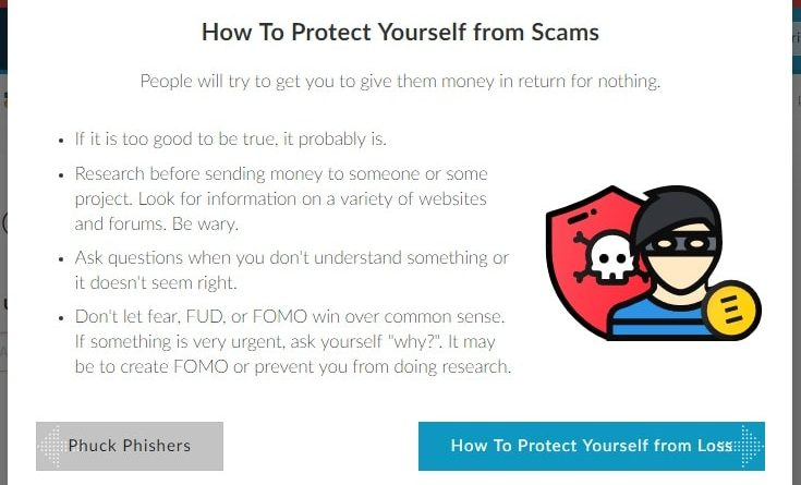 les cryptomonnaies, se protéger des scams