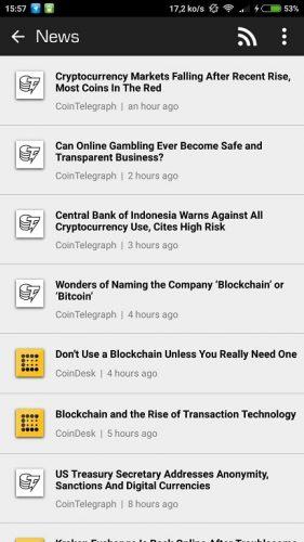 blockfolio news