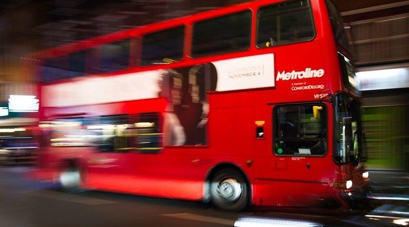 renversé par un bus
