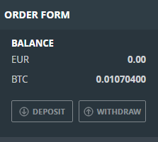 GDAX Withdraw