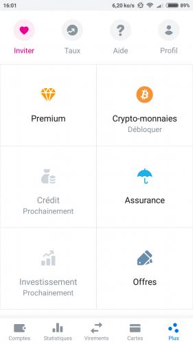 Revolut, Obtenez une carte bancaire cryptos gratuitement