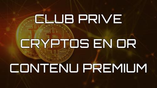 cryptos en or