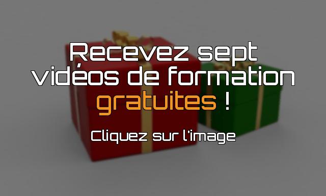 Sept vidéos de formation gratuites