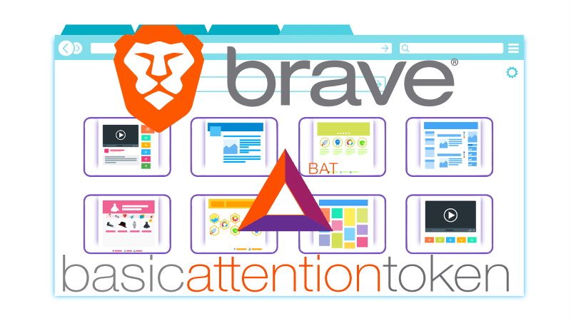 Navigateur BRAVE - Cryptomonnaie BAT