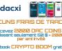 Dacxi : recevez 2000 DAC en bonus et un e-book gratuit