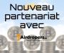 Airdrops : partenariat avec airdropers.io