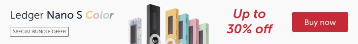 Ledger Nano S - Le plus sécurisé des portefeuilles matériel